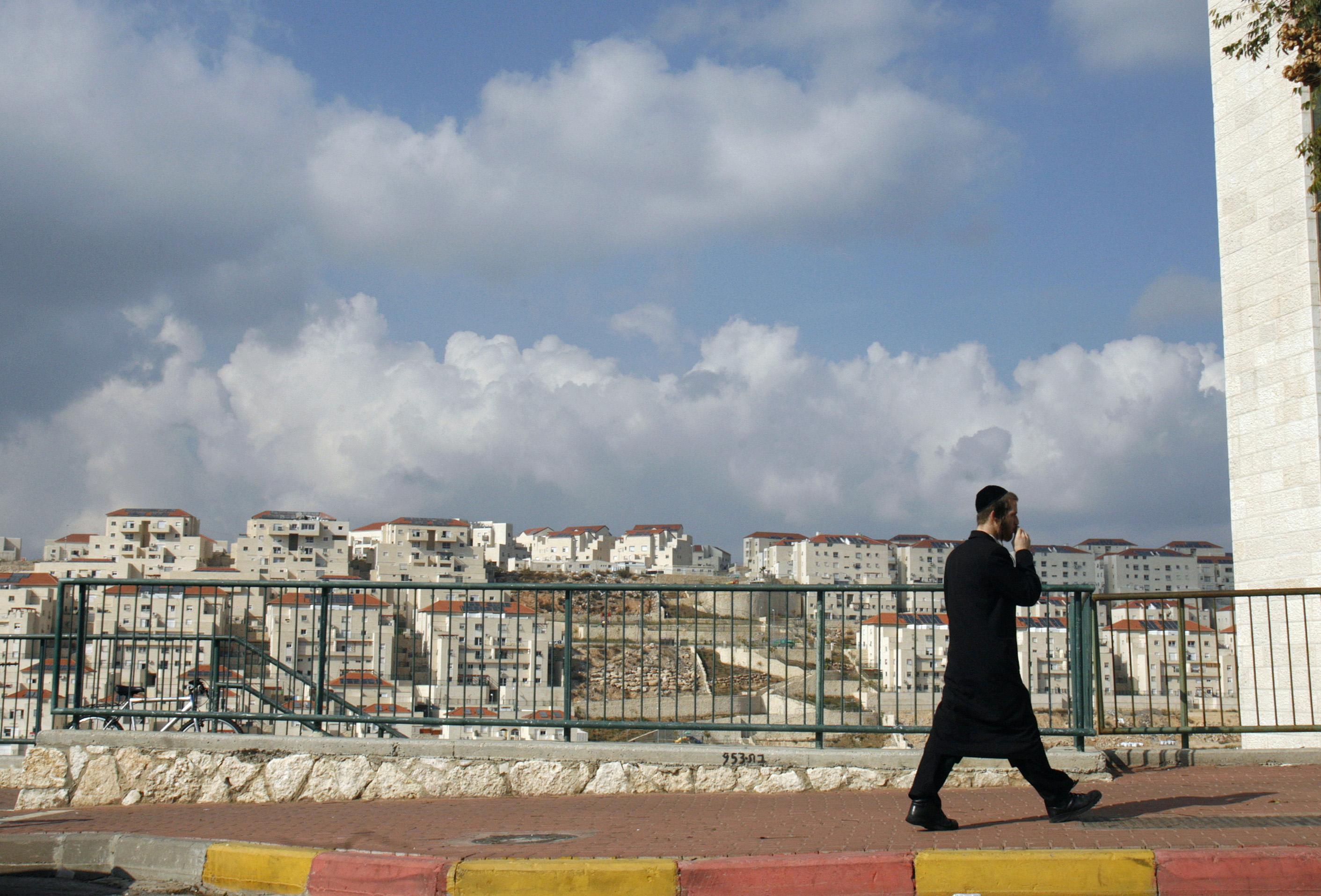 Israeli settlements (Reuters.)