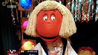 The Jimmy Savile character was featured in a repeat of the Tweenies programme