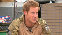 Prince Harry interview in Camp Bastion, Afghanistan