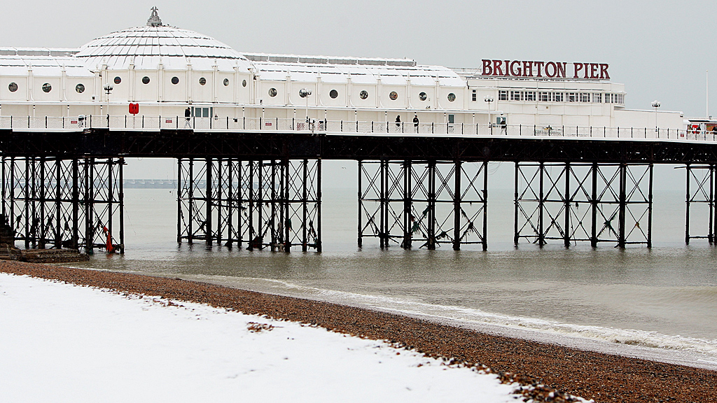 French gas leak hits the UK south east coast (Image: Brighton, Getty)