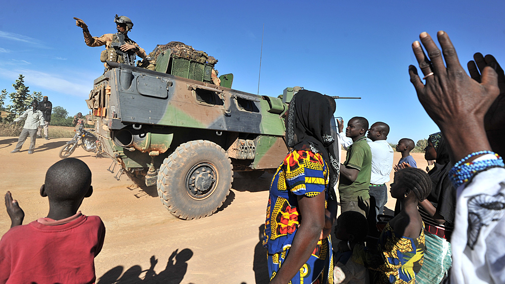 Britain is 'not seeking a combat role' in Mali, David Cameron says (Image: Reuters)