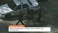 Shootings reported at college in Texas