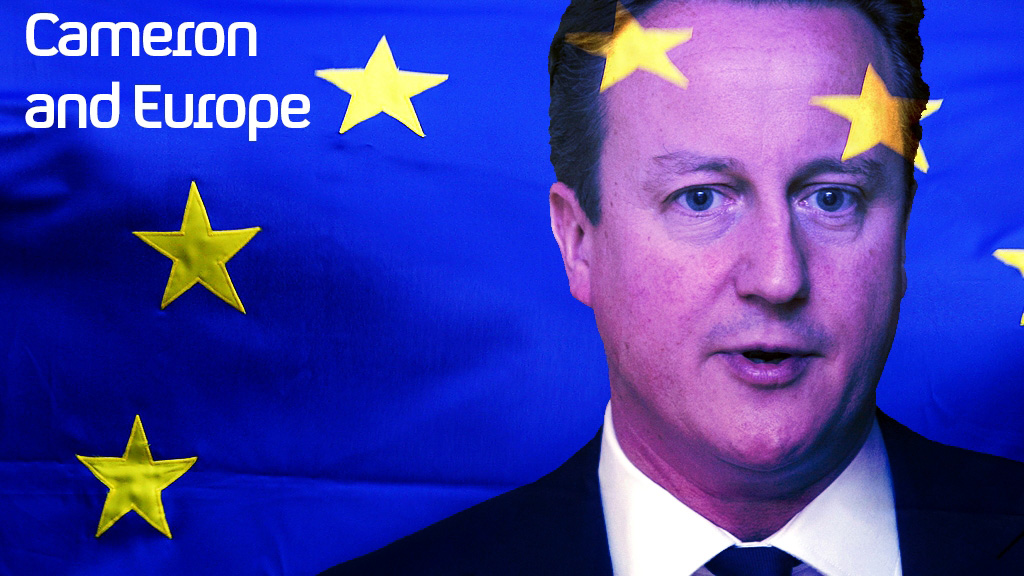 In the most important foreign policy speech of his premiership, David Cameron promises a referendum on Britain's membership of the European Union if the Conservatives win the next election.