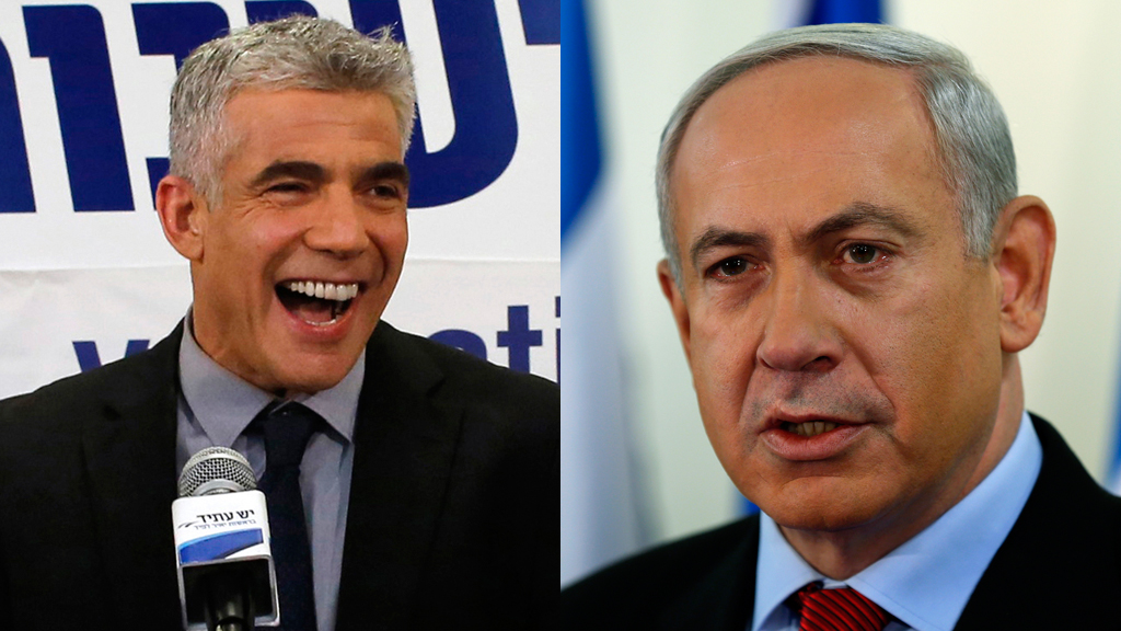 Deadlock in the Israeli elections forces Binyamin Netanyahu to turn for support to a former television presenter who wants to re-open peace talks with the Palestinians (Reuters)