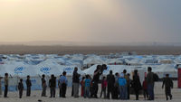 Inside Jordan's Za'atari refugee camp