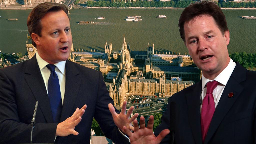 David Cameron and Nick Clegg (Getty)