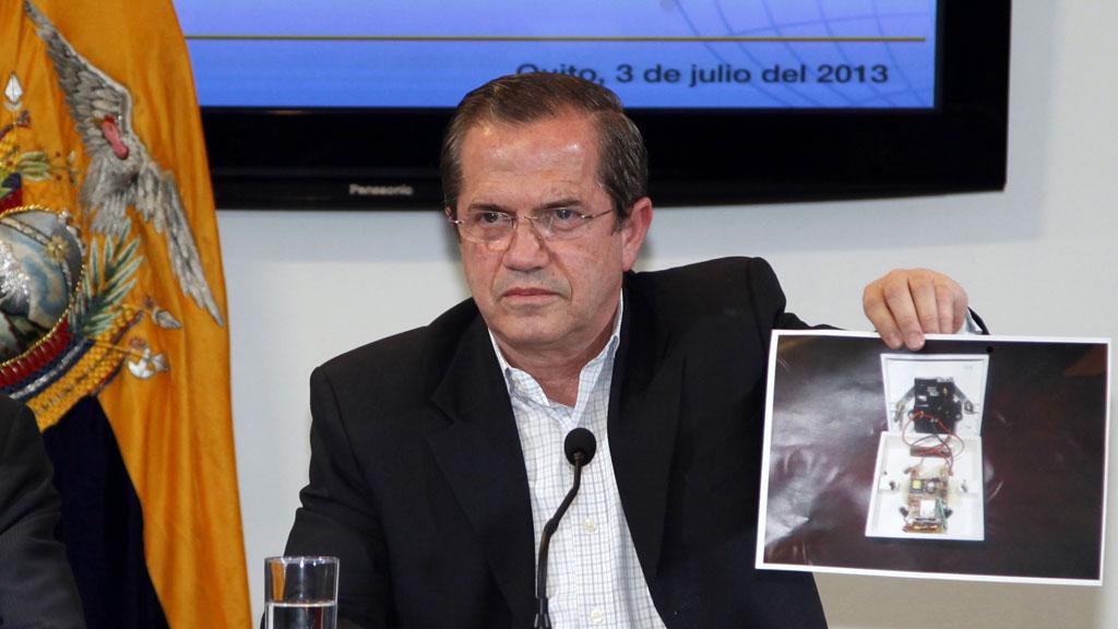 Ecuadorean Foreign Minister Ricardo Patino (Reuters)