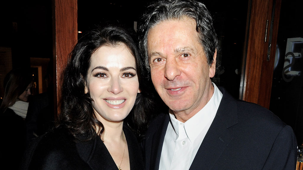 Nigella and Charles Saatchi in 2012 (pic: Getty)