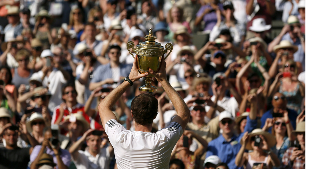 Andy Murray wins Wimbledon.