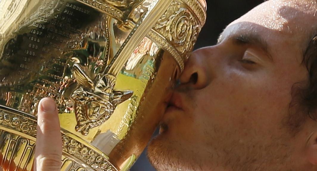 Andy Murray wins Wimbledon.