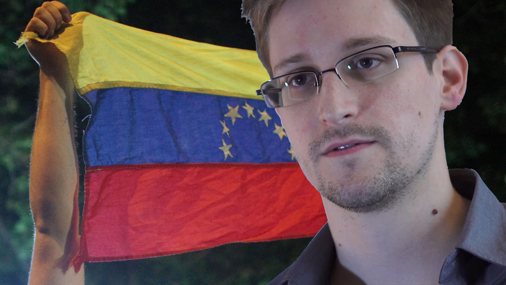 Edward Snowden is likely to accept asylum in Venezuela, as long as he can get there, Glenn Greenwald says (picture: Getty)