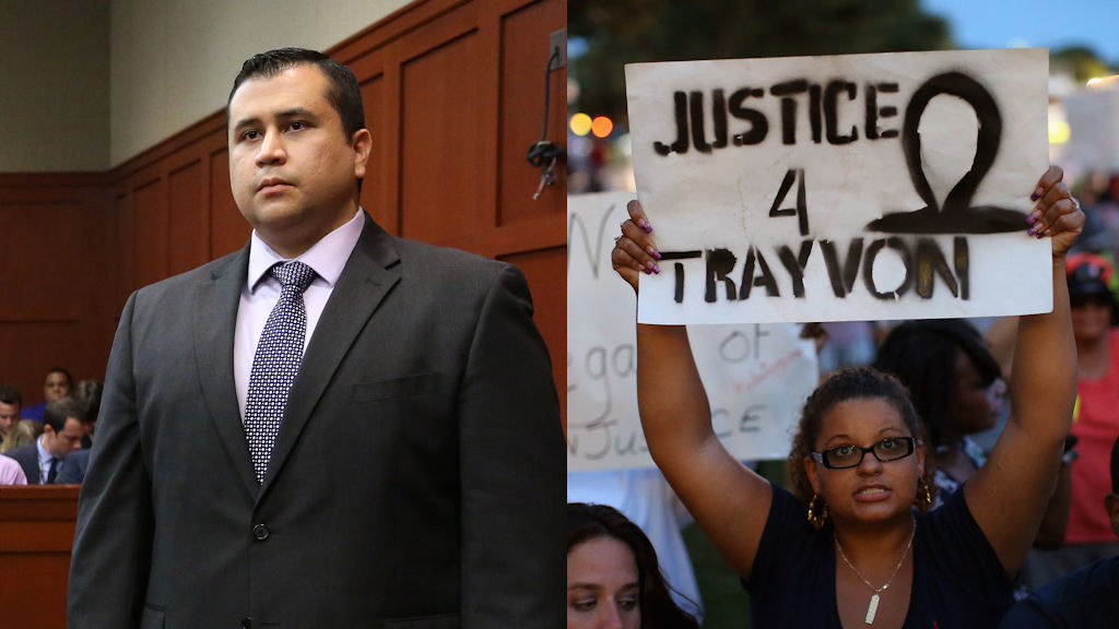 George Zimmerman acquitted of killing black teenager Travyon Martin (Getty)