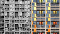 Park Hill, before and after (pictures: Reuters and Urban Splash)