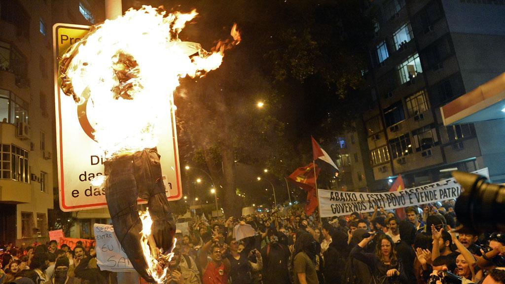 Protest in Brazil (G)