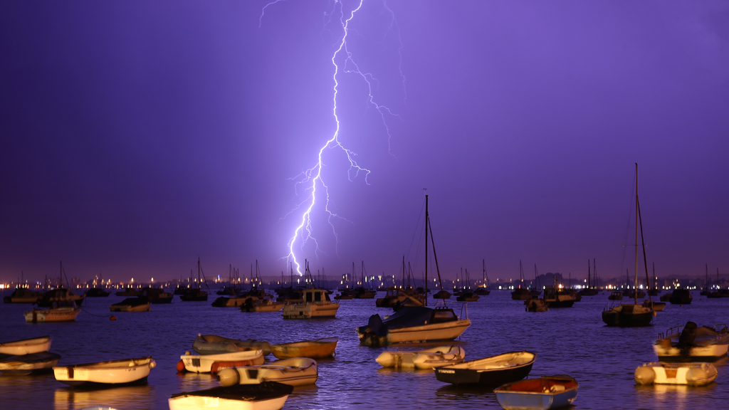 Poole Harbour Lightning