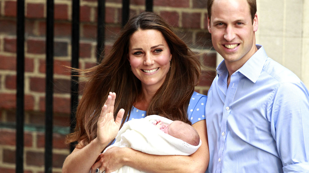 Royal baby named.