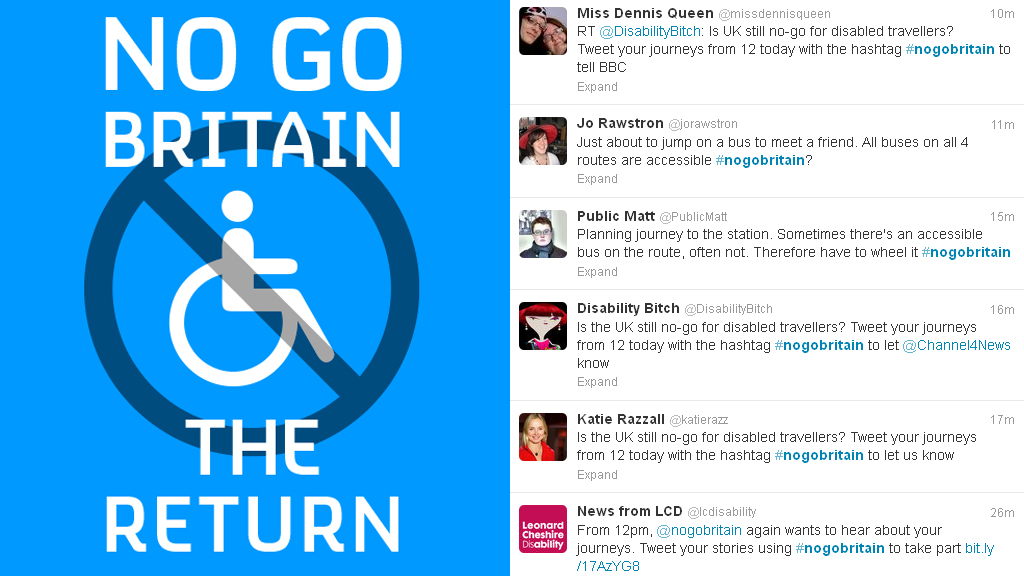 No Go Britain - the return of the Twitter trial