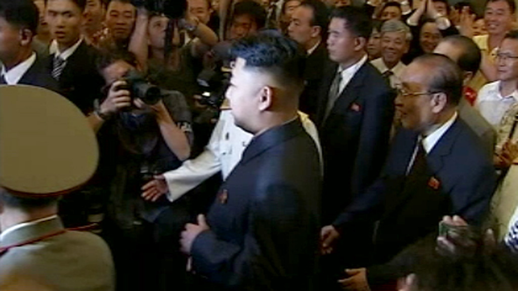 hannel 4 News becomes the first foreign news organisation to ask Kim Jong-un a question.