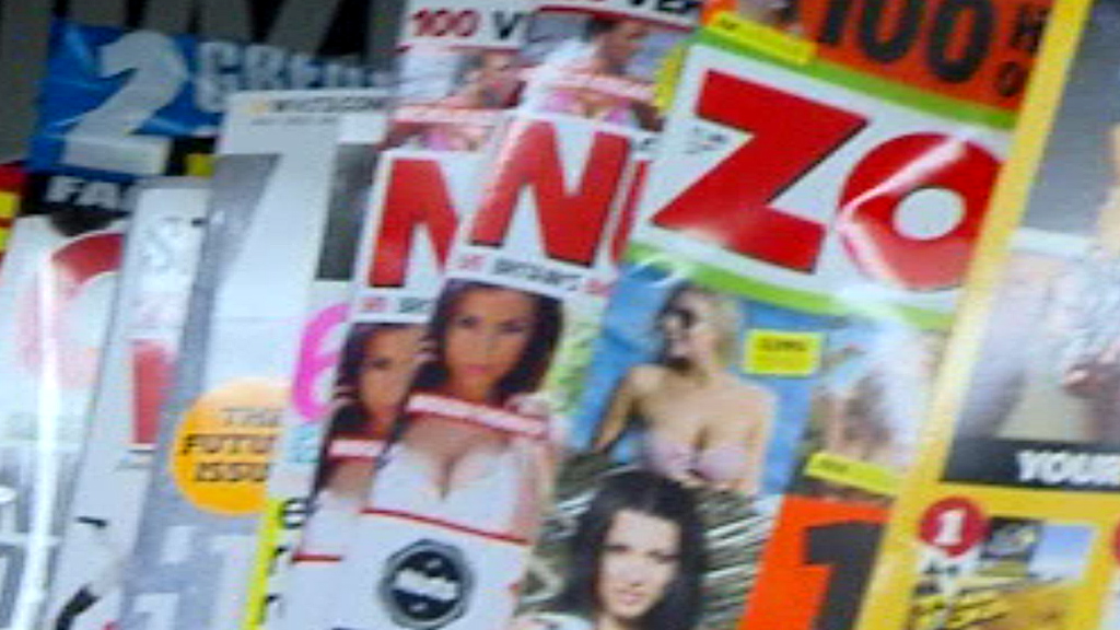 Zoo, Nuts and Front agree to tone down their covers after pressure from Tesco