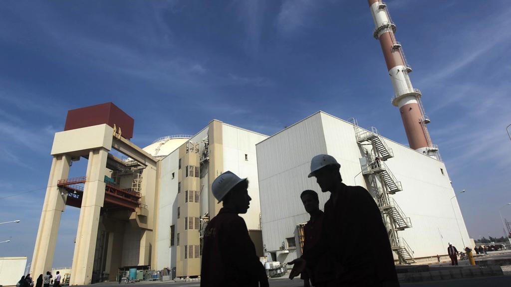 Bushehr nuclear plant (Reuters)