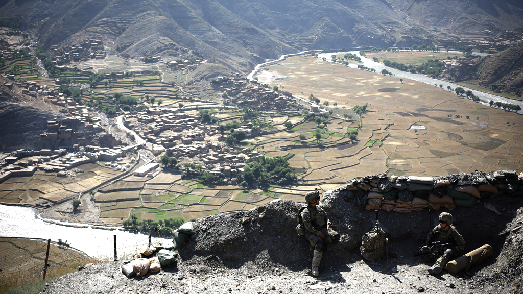 Two British soldiers admit abusing Afghan civilians (G)