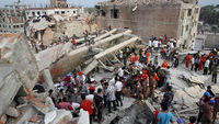 Bangladesh factory collapse: UK donates �18m in aid