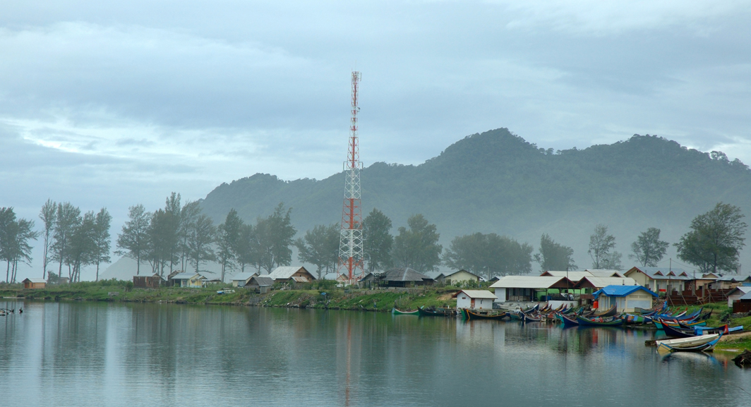 The Aceh region of Indonesia
