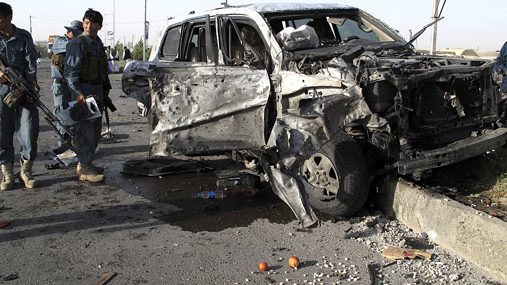 Afghan bomb blast marrs Nato handover in Kabul (Image; Reuters)