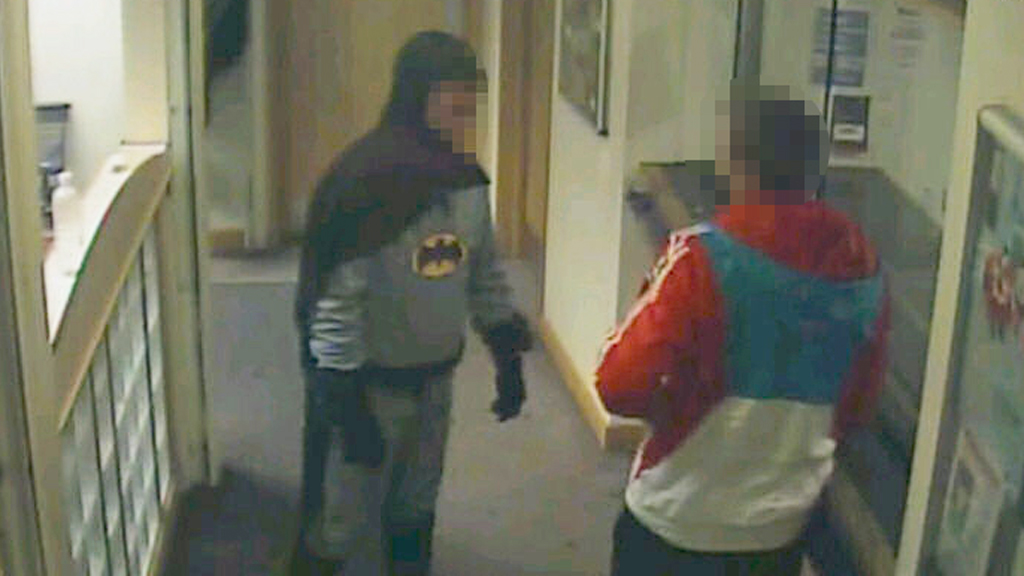 Bradford Batman (police CCTV images)