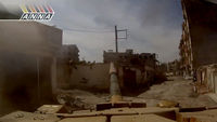 Footage from a government tank reveals the war on the ground in Syria