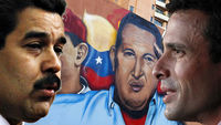 Nicolas Maduro and Henrique Capriles are the likely opponents in Venezuela's election (pictures: Retuers)