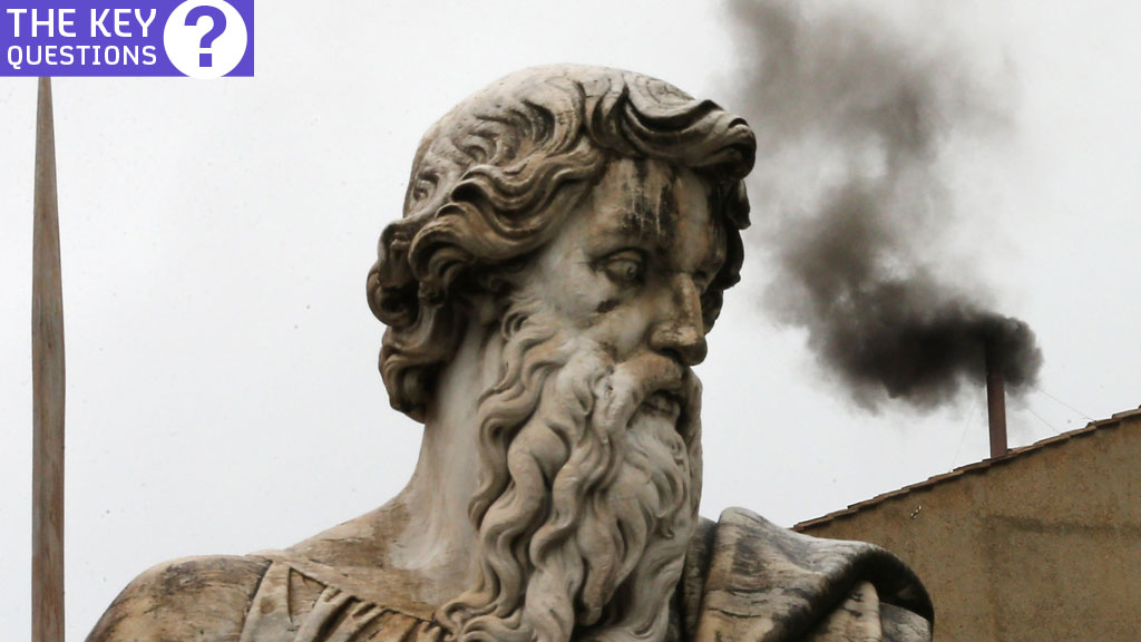 A replacement for Pope Benedict should be chosen soon. How will he be elected and what is the significance of black and white smoke rising from the Sistine Chapel roof? (Getty)