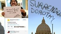 Pope tweets - from the Wizard of Oz to papal emoticons.