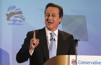 David Cameron rallies restive Tories