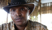 Bosco Ntaganda, who has been wanted by the ICC for six years, hands himself in in Rwanda (picture: Reuters)
