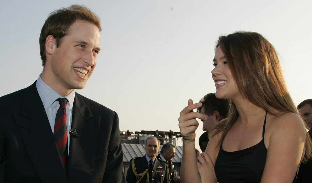 Joss Stone talks with Prince William at an event in 2007 (picture: Reuters)