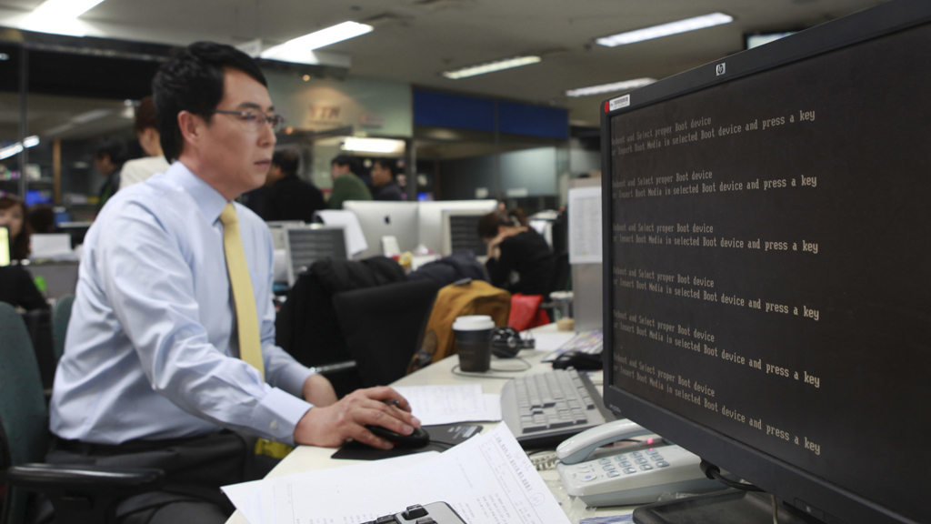 Hackers target South Korean banks and broadcasters (R)