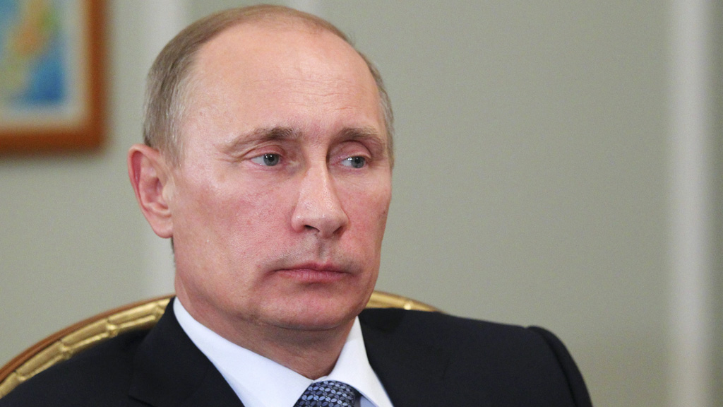 Russia, and president Vladimir Putin, could come to the rescue with a new loan deal (picture: Reuters)