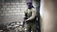 A rebel fighter in Syria. (Getty)