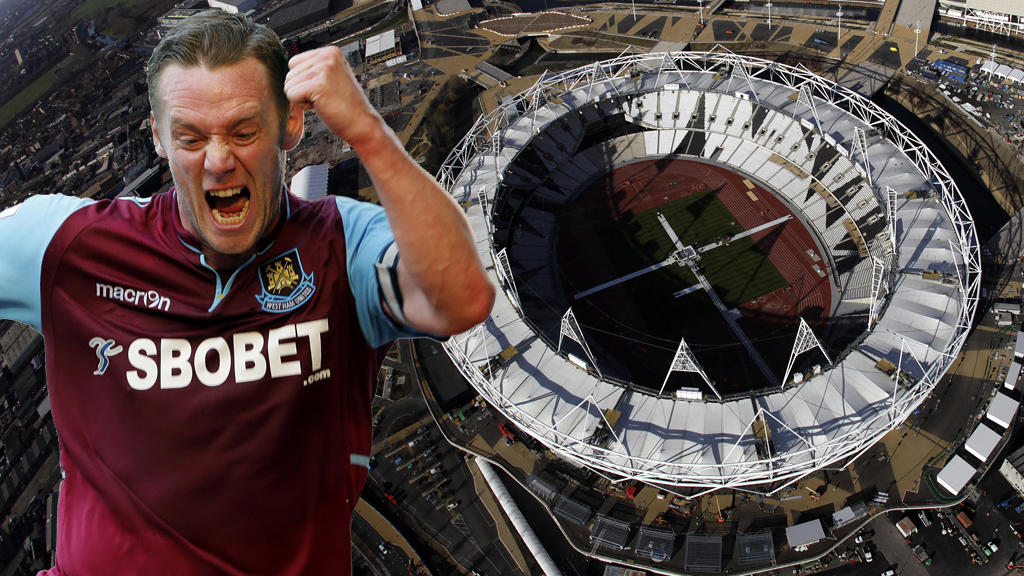 West Ham will move into the Olympic Stadium in 2016 (picture: Reuters)