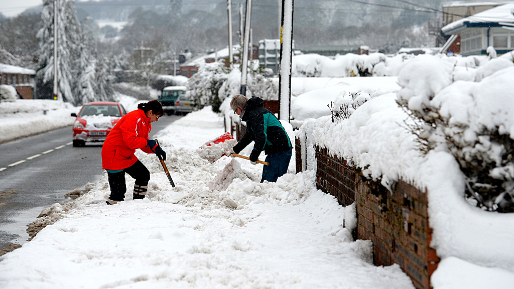 Latest UK snow and weather forecast (Image: Getty)