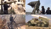 Syrian rebels have obtained weapons including anti-aircraft machine guns, rocket launchers and field guns