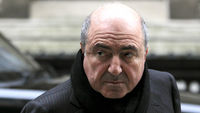 Russian oligarch Boris Berezovsky arrives at the High Court last year (R)