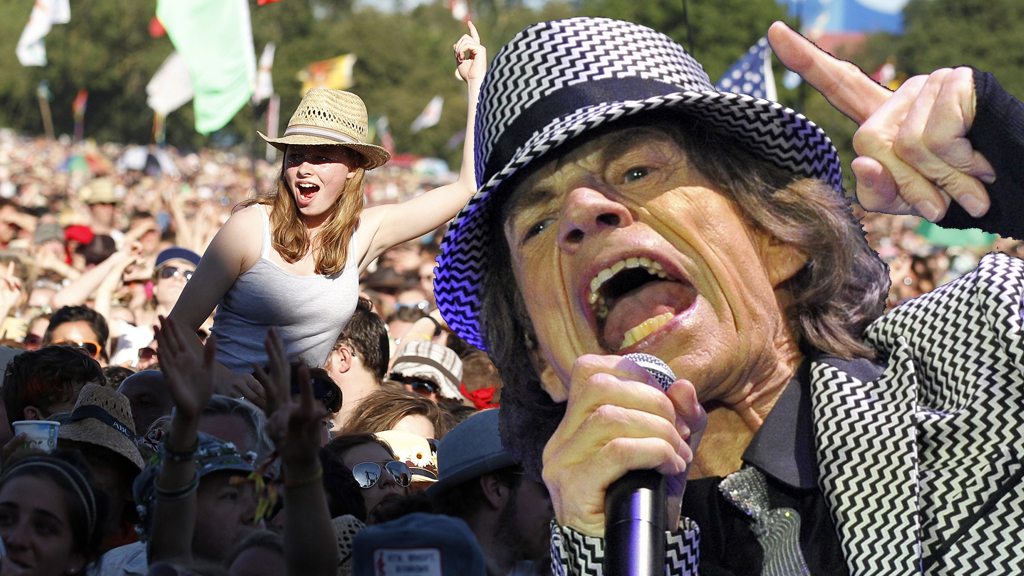 Rolling Stones confirmed to play at Glastonbury (pictures: Reuters)