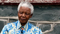 Nelson Mandela is making 'good progress' after being hospitalised on Wednesday (picture: Reuters)
