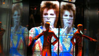 David Bowie Is - exhibition opens at the V and A in London.