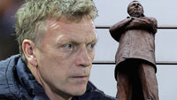 David Moyes has been appointed the replacement for Sir Alex Ferguson as manager of Manchester United (pictures: Getty)