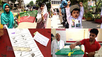 Voters take to the polls for Pakistan's historic elections.