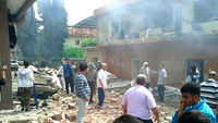 Car bomb blast kills 40 on Turkey-Syria border (R)