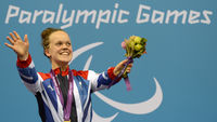 Ellie Simmonds, one of the superstars of the Paralympics. (Getty)